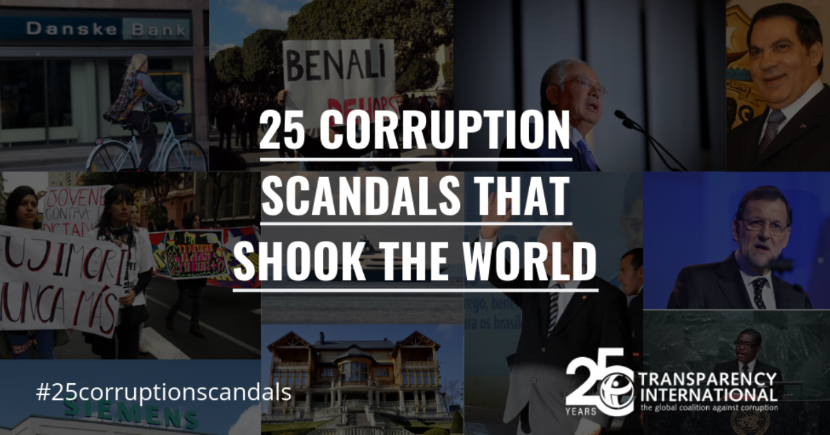 25 Corruption Scandals That Shook The World News Transparency Org