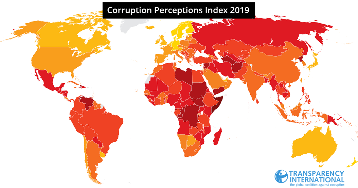Image of: 2019 Cpi Transparency Org
